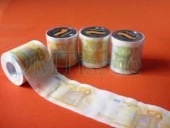 印刷欧元卫生纸