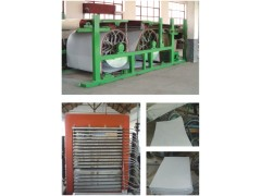 供应 污泥制板机|湿板机|浆板机