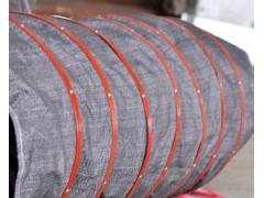 供应水泥散装伸缩布袋 散装机专用布袋 输送速度良好