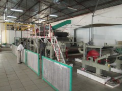 造纸机,竹子破碎机,竹子粗磨机,槽式打浆机,复卷切纸机