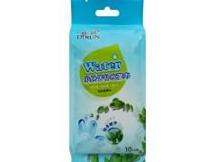 迪润10片小分子补水独立装湿巾