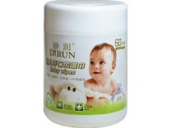 60片婴儿手口无香桶装湿巾