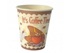 280毫升欧版中空双层咖啡杯 深圳纸杯  一次性豆浆杯