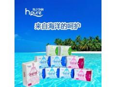 海藻纤维卫生巾