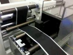 深圳凤鸣亮纸张涂层湿浆料厚度非接触激光在线测厚系统