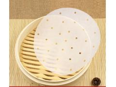蒸笼垫一次性不粘油纸 做馒头蒸笼布笼屉纸8寸50张