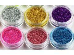 批发供应玻璃工艺专用金葱粉/镭射粉 颜色多,规格全,价格低