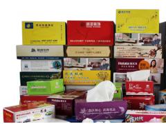 烟台礼品公司厂家供应广告纸抽,可以定制的抽取式面巾纸