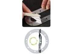 层撕垫片,层压垫片,多层垫片,烟草机专用铝多层垫片