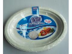 供应广西清影纸浆环保餐具一次性纸碟/纸盘