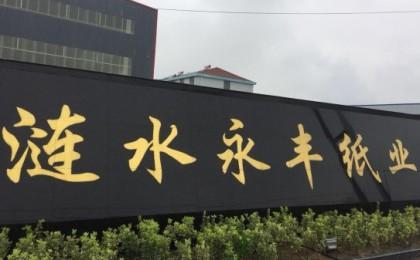 江苏永丰纸业新项目进展顺利