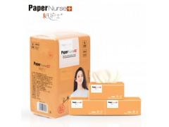 纸护士竹浆本色抽纸餐巾纸家用车用面巾纸402张妇婴适用