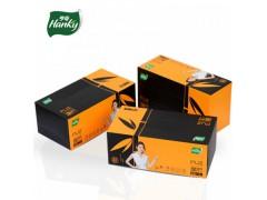 亨奇璞竹盒装抽纸本色纸巾家用车用办公室纸巾面巾纸