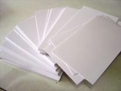白卡纸 涂布牛卡纸 挂面牛卡纸 白板纸