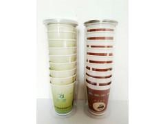 美尔乐白银纸杯定制定做 结婚纸杯加工批发厂 奶茶纸杯价格