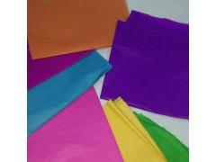 東莞染色防火棉紙彩色包裝紙廠家14克卷筒阻燃棉紙