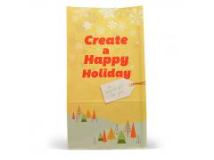 联兴 食品包装纸零食袋小食油炸鸡蛋仔煎饼果子纸袋可定制