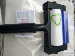 集尘式静电粘尘滚轮4寸独特研发自动转移除尘设备自带纸卷