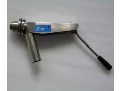 SJQF-1210型免冲洗手动低浓浆料取样阀