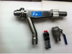 ZJQF-2200/2300免冲洗气动低浓/中浓浆料取样阀