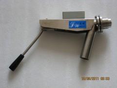 SJQF-1600型语音型免冲洗手动中浓浆料取样阀