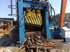 废纸废钢全自动液压龙门剪800吨