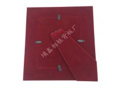 相框背板MDF包咖啡色绒布背板实木相框专用支架