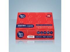 零度Tenou消毒杀菌60抽干纸巾