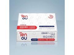零度Tenou消毒杀菌100抽纸巾