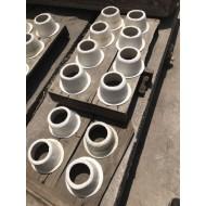 硅酸铝高温看火门技术 陶瓷纤维冒口生产线设备 耐高温炉膛设备