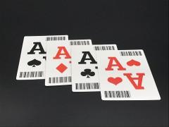 广州扑克牌定制东南亚黑芯纸条码扑克定制工厂
