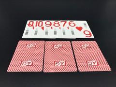 高质量扑克牌生产菲律宾条码扑克定制源头工厂