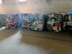 垃圾分类回收纸长期供应