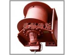 WKJ型液压绞车由径向柱塞液压马达和滚筒组合而成