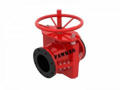 进口手动管夹阀 福克斯FAWKES/美国进口 法兰胶管阀