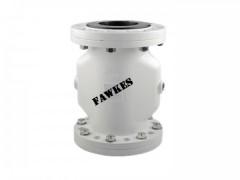 进口气动夹管阀 福克斯FAWKES/美国进口品牌 法兰气囊阀