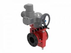 进口电动管夹阀 福克斯FAWKES/美国进口 电动法兰管夹阀
